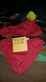 red two piece bathing suit in Fort Campbell, Kentucky