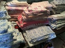 Vintage German and French Fabrics Floral Bauernbettwasche for Quilting Patchwork etc in Ramstein, Germany