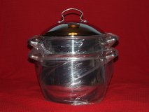LNT Home Professional 8qt. Stainless Covered Stockpot with Pasta Insert Copper Clad NEW in Bolingbrook, Illinois