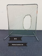 Pitcher/catcher net in Vacaville, California