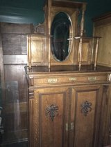 beautiful antique dresser with mirror from France in Ramstein, Germany