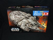 Star Wars Millenium Falcon 3D Puzzle 1995 By Wrebbit in Chicago, Illinois