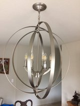 Orb chandelier in Camp Pendleton, California