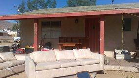 Two matching full size couches in great condition in 29 Palms, California