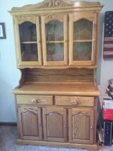 Solid Oak Hutch in Fort Campbell, Kentucky