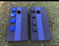 Thin Blue Line Cornhole Boards in Cherry Point, North Carolina