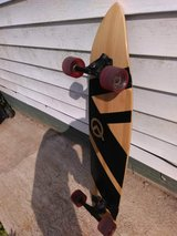 Quest longboard in Fort Campbell, Kentucky