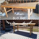 wood work benches in Barstow, California