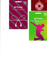 iTunes Gift Cards ($40 worth of cards for $25) in Naperville, Illinois