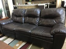 Brown Reclining Sofa and Loveseat in The Woodlands, Texas