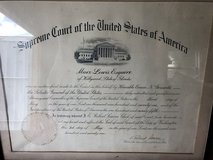 Vintage Legal Documents in Perry, Georgia