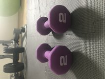 Set of 2Lb Weights in Ramstein, Germany
