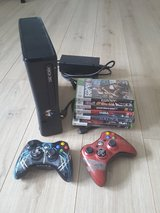 Xbox 360 with games in Wiesbaden, GE