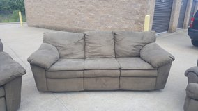Ashley Suede couch set in Fort Campbell, Kentucky