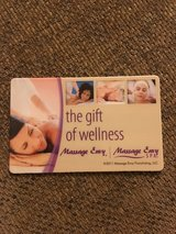 $90. Massage Envy gift card in The Woodlands, Texas