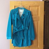 Trench coat / rarely used/ like new in Chicago, Illinois