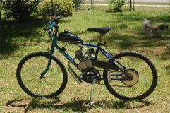 motorized bicycle in Warner Robins, Georgia