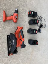 B & D cordless drill and skillsaw in Rolla, Missouri