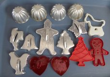 Vintage Metal and Plastic Cookie Cutters in Houston, Texas