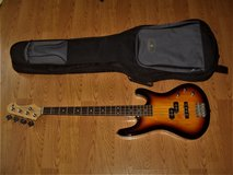 Canvas 4 Strings Bass Guitar GTFB10PJ/3T - Excellent Condition! in Valdosta, Georgia