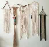 Macrame and Dreamcatcher Wall Hangings in Camp Pendleton, California