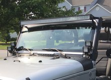 Jeep 52 Inch Light Bar, Aux Lights, and Mounts in Camp Lejeune, North Carolina