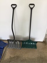 Snow shovels in Naperville, Illinois
