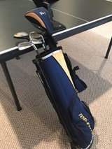 intermediate golf set.  barely used in Shorewood, Illinois