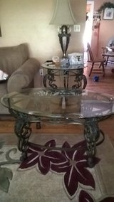 glass and wrought tables in Aurora, Illinois