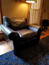 Quality Klaussner Distinctions Leather Chair Comfortable in Warner Robins, Georgia