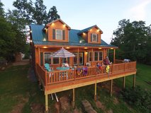 Toledo Bend Lakefront Log Cabin Rental in DeRidder, Louisiana