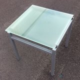 Glass End Table in Sugar Land, Texas