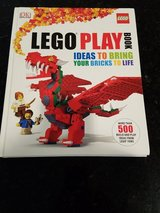Lego Play Book Hardcover in Sandwich, Illinois