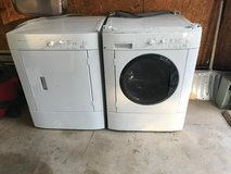 Frigidaire Washer and Dryer stackable in Fort Leonard Wood, Missouri