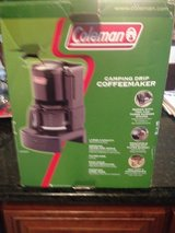 Coleman camping drip coffeepot 10 cup in Naperville, Illinois