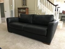 Black Leather SOFA in The Woodlands, Texas