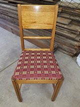 Late 30s early 40's Oak set of 4 Chairs in Yorkville, Illinois