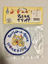 Vintage Build a Bear Workshop patch (NEW) Still in plastic bag in Aurora, Illinois