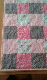 Teal Owl Baby Girl Quilt in Fort Lewis, Washington