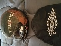 Street and Steel Anarchy Full Face Motorcycle Helmet with Soft Fabric Carrier for Sale!! in Camp Pendleton, California