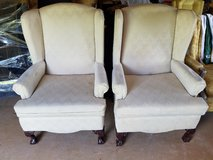 2 Wing Back Chair in Fort Polk, Louisiana