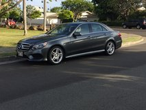 2014 Mercedes Benz E350 Sports Sedan 4 dr in Pearl Harbor, Hawaii