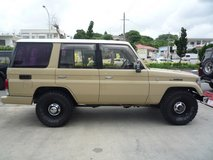 Land cruiser70PRADO 1993y september in Okinawa, Japan