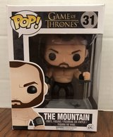 FUNKO POP! GAME OF THRONES THE MOUNTAIN #31, NIB in Lakenheath, UK
