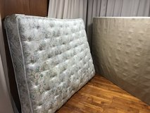 Queen mattress and box spring in Okinawa, Japan