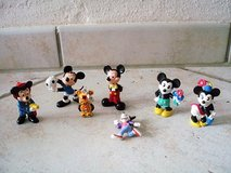7 Mickey and Minnie Mouse   figures in Stuttgart, GE