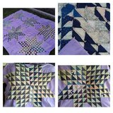 Hand Stitched Quilt Top*Lot 1 of 5 in Joliet, Illinois