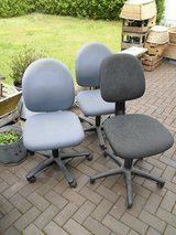 Set of 3 desk Chairs in Ramstein, Germany