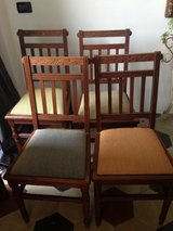 4 Dining chairs in Stuttgart, GE