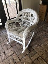 Wicker Rocking Chair- heavy duty in Alamogordo, New Mexico
